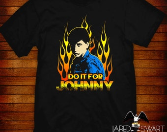Do It For Johnny Outsiders T-shirt Jared Swart Artwork S M L Xl 2xl 3xl 4xl 5xl Also In Ladies Fit S-2xl