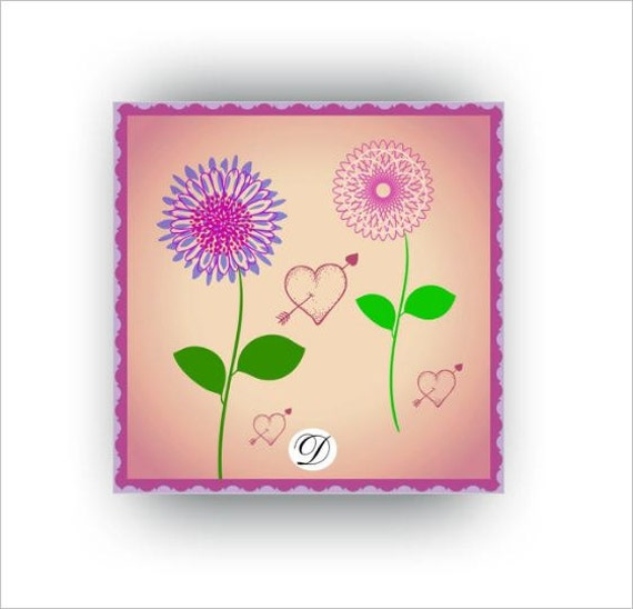 Items Similar To Printable Kids Wall Art Cute Lilac And