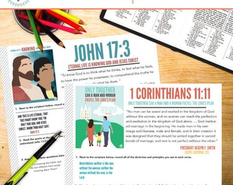 New Testament Doctrinal Mastery Passages - Study Sheets (PDF Download)