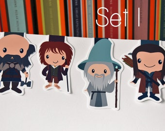 The Hobbit Magnetic Bookmarks