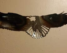 Eagle Metal Art, Metal Polished Eagle, FREE SHIPPING!!!
