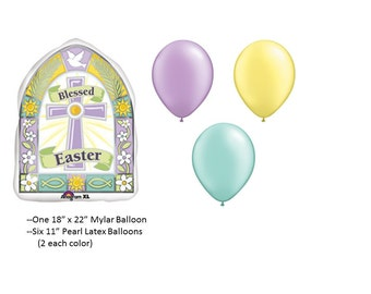 Easter Blessing Balloon Set