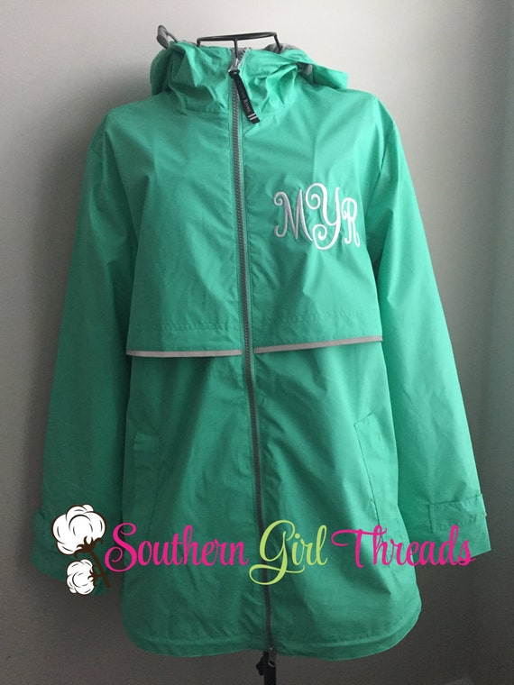 Charles River Rain Jackets Monogram Rain By