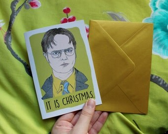 The Office Dwight Schrute Christmas Card
