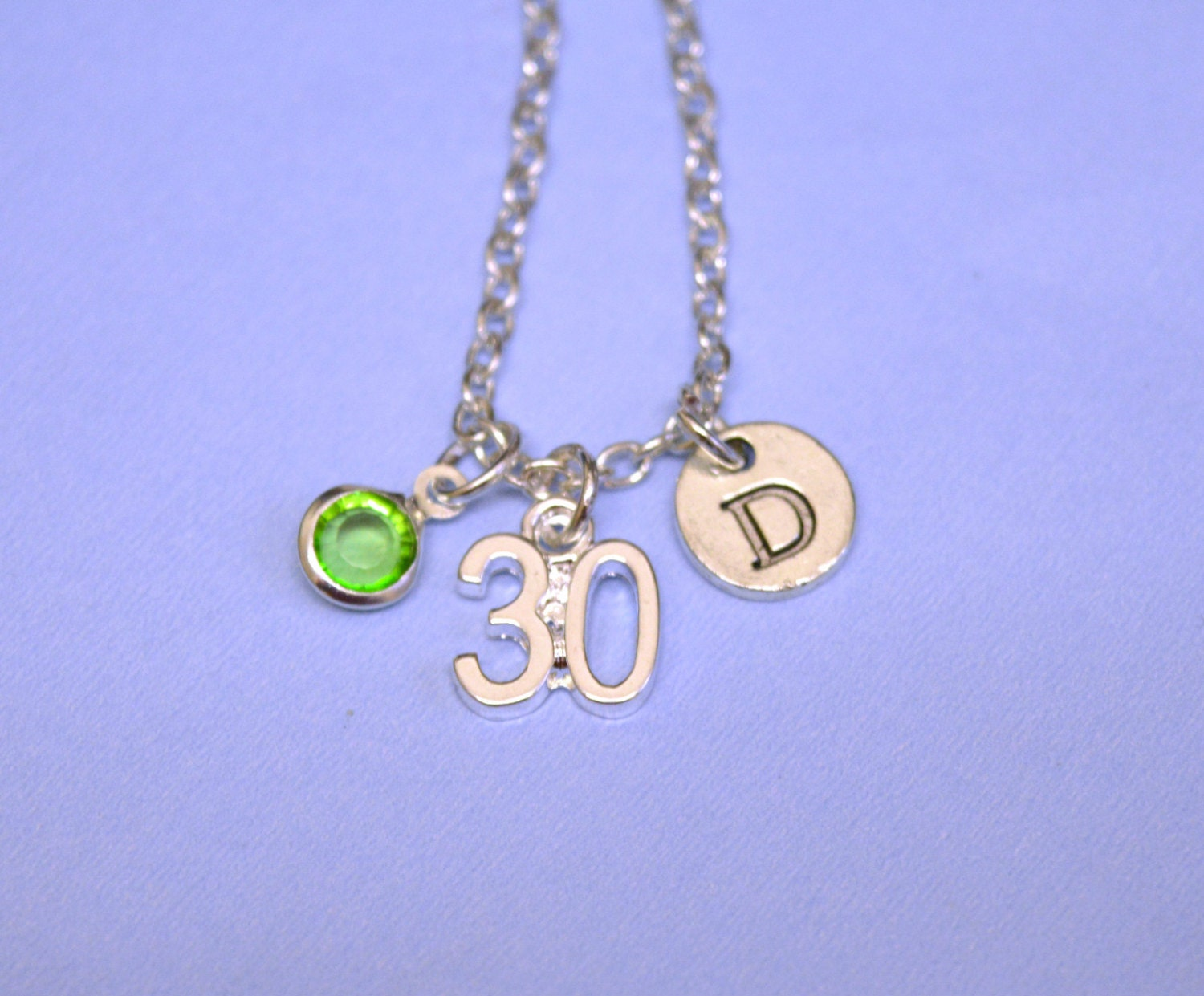 30th 40th 50th birthday gift birthday necklace gift jewelry