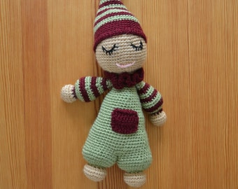 Handmade Knitted Plush Toy - Midget
