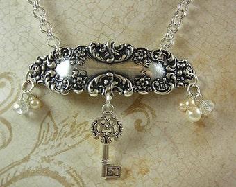 Vintage Style Key Necklace