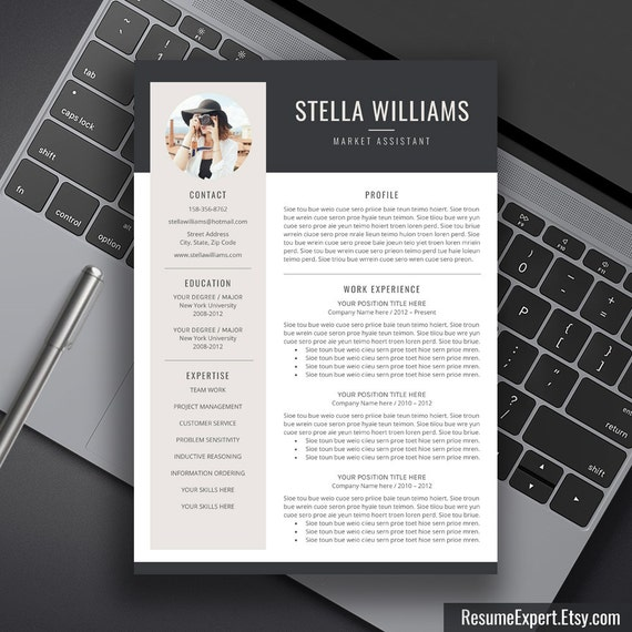 Professional Resume Template Creative Resume By ResumeExpert