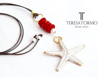 Sea star pendant, very Mediterranean .. !!