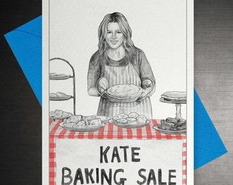 Kate Baking Sale Card