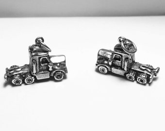 Charm, Semi Tractor Trailer Truck Charm