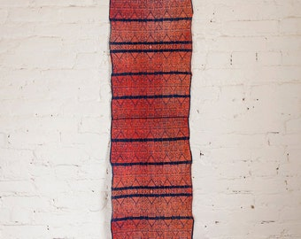 Delfina Wall Hanging. Vintage Handwoven Ceremonial Textile from Guatemala. Textile Art, Table Runner.