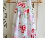 Girls Dress Size 3 / Hummingbird Dress / kids clothing / Shabby Chic / babies clothing / Floral Dress / peasant dress /  sun dress