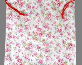 Flamenco Shoes Bag Multi Color Beige Pink Mini Rose Floral Gift Dance Shoes Bag Flamenco Skirts