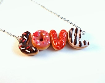 Love Donuts Necklace