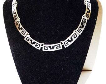 """Vintage Alpaca Mexico 15"""" Necklace."""