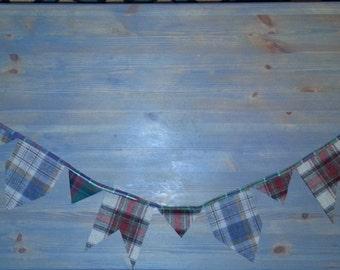 "Bunting ""Northwest Cozy"" Made from Pendleton Wool 54"" Banner Garland"