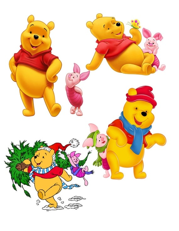 It's just a photo of Dynamite Images of Pooh Bear