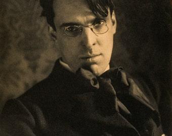 Alice Boughton Photo, William Butler Yeats, poet, 1903