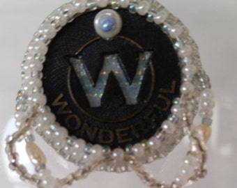 Wonderful Bead Embroidery Necklace - 01W45