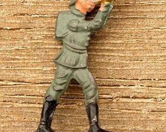 Original early twentieth century soldier brooch