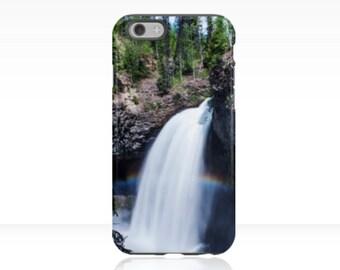 Rainbow iPhone Case | Nature iPhone Case | Waterfall Phone Case | iPhone 7 Case | Travel Phone Case | Tree iPhone Case | Outdoor Phone Case
