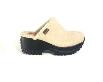 PLATFORM SHOES // 90s // Size 8 Womens // Platform // Shoes // Platform Shoes // Platform Clogs // 90s // Clogs // Platform Shoes