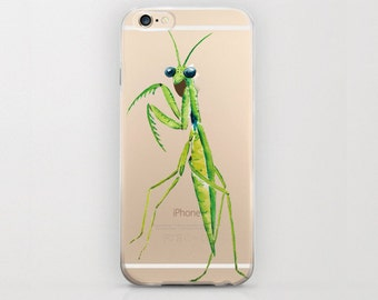 Praying Mantis iPhone 6s Case iPhone 6 Mantises or Mantodea Insect Phone Protector Unique Green iPhone 6 Covers iPhone 6 Case