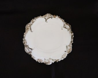 """Antique Mckee Glass Co. Made This """"Derby Plate"""" Before 1899"""