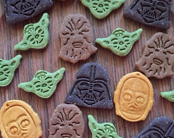 Dog Treats, Star Wars, Grain Free Dog Treat, Organic Dog Treats, Peanut Butter, Gluten Free, All Natural, Gourmet Dog Treats, Dog Gift, Dog