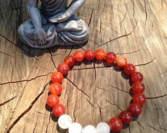 Red Carnelian and OM