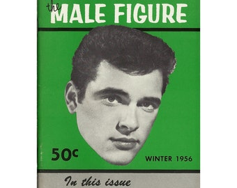 Winter 1956 -  Uncirculated - Vintage - RARE - Third Issue Of The Male Figure Magazine