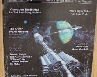 FASA StarDate Magazine October 1985 No. 8 - Vintage Star Trek, Battletech, RPG Game, Sci Fi