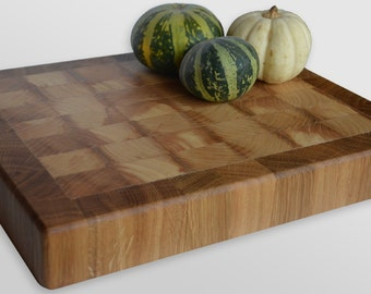 End grain Cutting Board , Endgrain chopping board , Oak wood cutting board , Ash Wood cutting board , Custom , Made to order