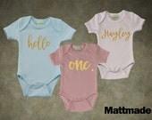 Baby Jumper - Newborn, Birthday, Infant jumper, custom design baby shirt