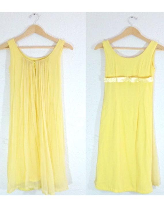 60s Sunflower Superhero Wiggle Dress with Cape