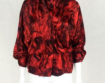 Pierre Cardin Silk Blouse - 1980s
