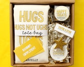 Cheer Up Care Package. Sunshine Gift Box. Thinking of You Gift. Get Well Package. Bad Day Gift. Gift Basket for Her. Sympathy Gift Basket.