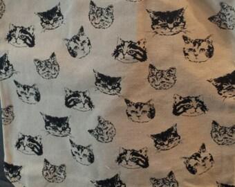 Meow-valous Faces Tote