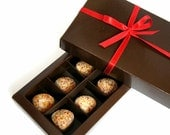 """Wax Melts """"Chocolates"""" - Scented Wax Tarts - Soy Wax Melts With Baltic Amber - Valentines Gift"""