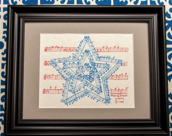 The Stars and Stripes Forever by John Philip Sousa Classical Music Art - FREE SHIPPING through July 4th!
