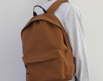 Minimalist Backpack Camel