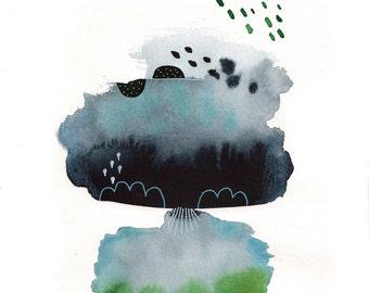 Original Watercolor #103
