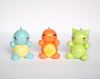 """Pokémon """"Chibi"""" Charms"""
