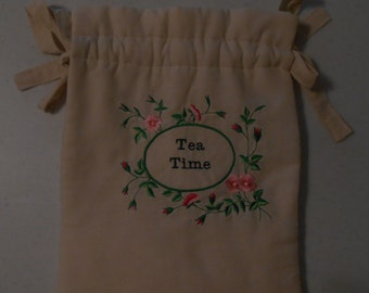 Padded Embroidered Tea Cozy