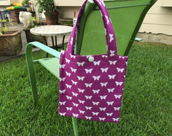 Matching Tote & Zipper Pouch