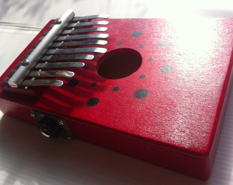 Electric Kalimba/Mbira - 11 note Thumb piano