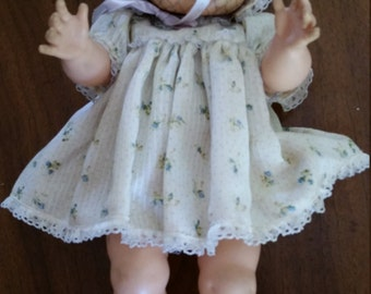 Vintage Vogue Ginny Baby Wet and Drink Doll Dressed