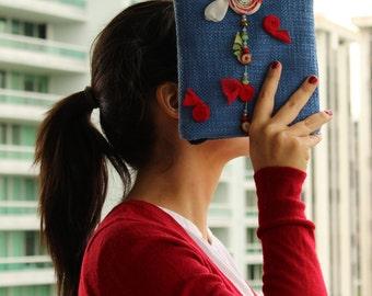Fabric handbag, shoulder bag, fabric purse, fabric handbags, handmade handbag, bags and purses, handbag, fabric shoulder bag