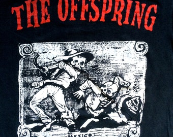 Rare 90's The Offspring Ixnay On The Hombre tour t shirt